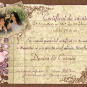 eliberarea certificatului de casatorie
