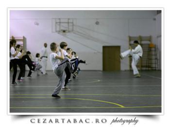 La un curs de Karate
