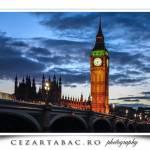 Renumitul pod si Big Ben-ul din Londra