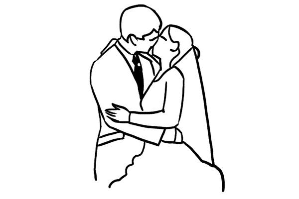 Idei si pozitii in fotografia de nunta 15