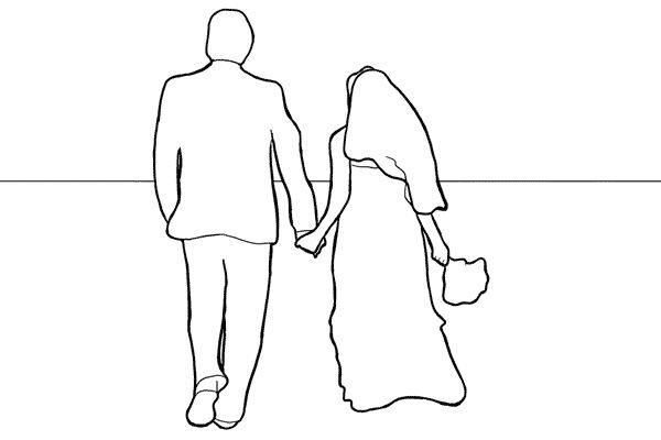 Idei si pozitii in fotografia de nunta 6