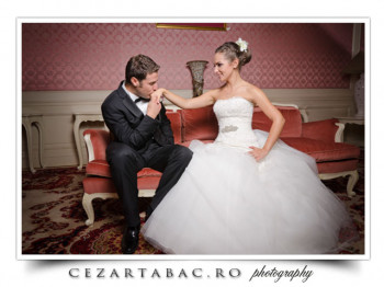 De la sesiunea foto de nunta in Casino Sinaia