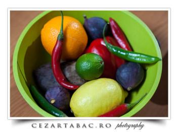 Cos cu fructe si legume – fotografii comerciale